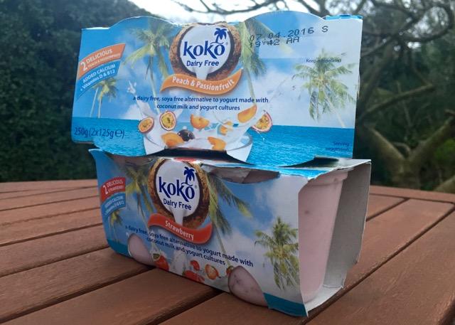 KoKo Dairy Free Coconut Yoghurts