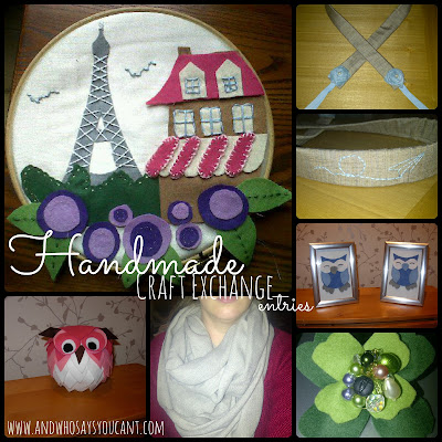 HANDMADE CRAFT EXCHANGE RE-VISITED (THROWBACK THURSDAY)