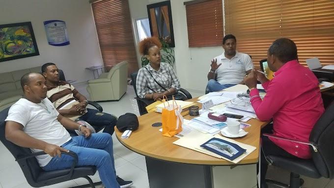 Comité Ejecutivo FED, se reúne con director UASD Centro Barahona