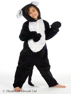 Cat Full Length Fur Costume from Theatrical Threads Ltd