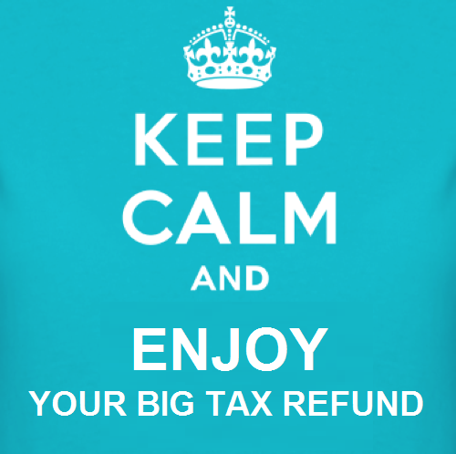 Theatre of Zen: Tax Refund Time!