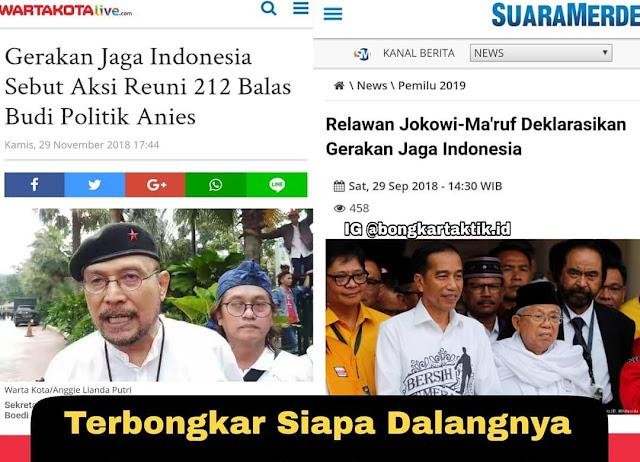 Demo Desak Anies Cabut Izin Reuni 212, Netizen Ungkap Identitas 'Gerakan Jaga Indonesia'