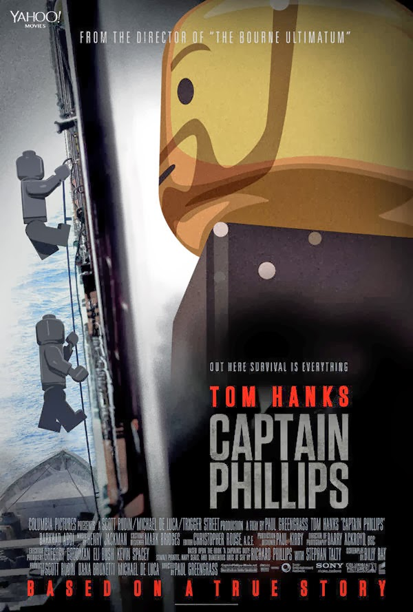 Poster Lego - Capitán Phillips