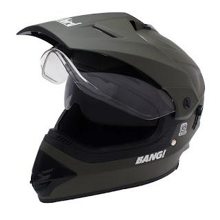 Steelbird Premium BANGI Motocross Helmet with Double Visor