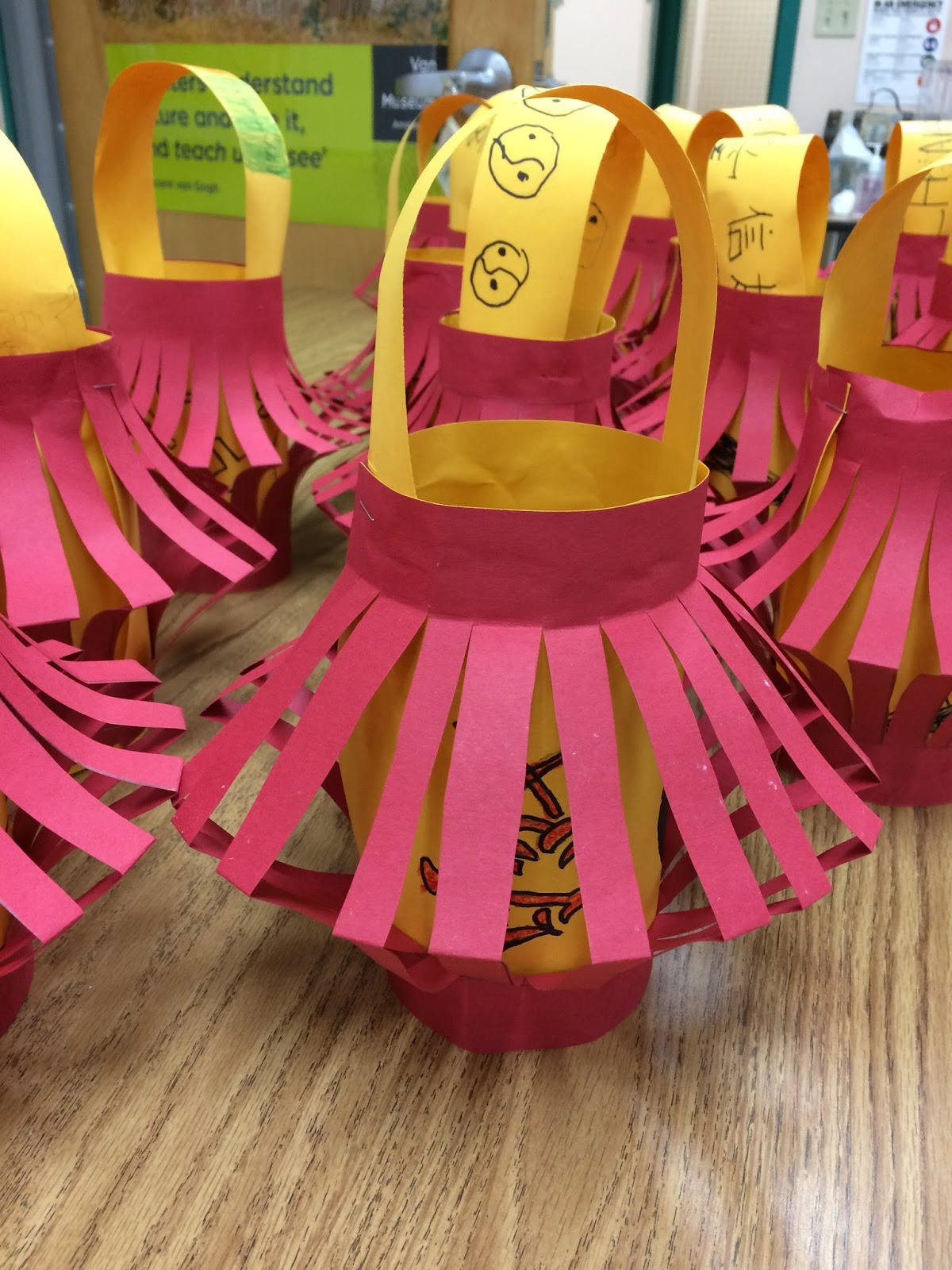 It S Art Day Chinese New Year Lanterns In 3rd And 4th Grade