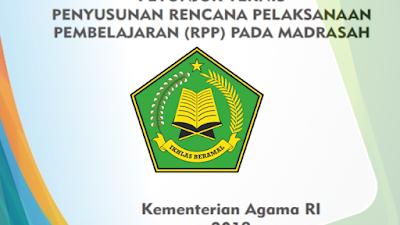 Juknis Penyusunan Rencana Pelaksanaan Pembelajaran (RPP) pada Madrasah