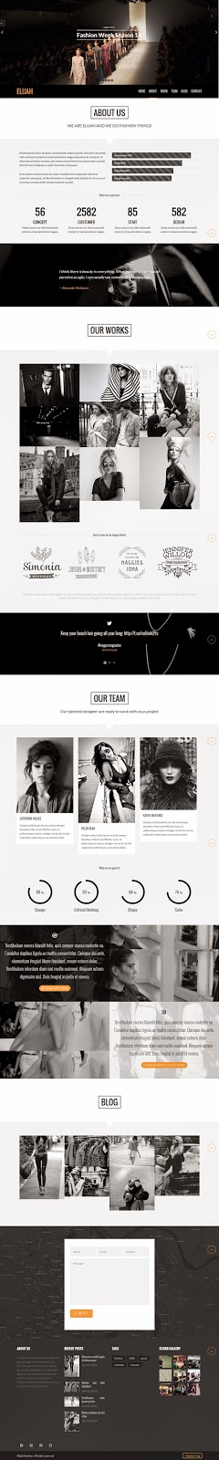 Premium WordPress Landing Page Template 2015