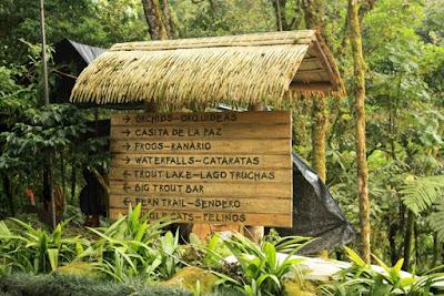 La Paz Waterfall Gardens en Costa Rica