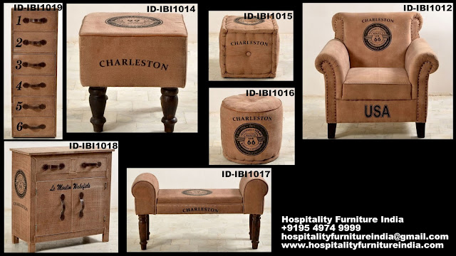 Classic canvas furniture
