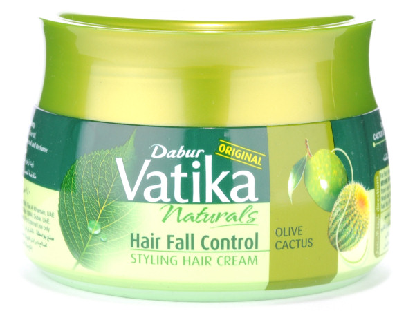 dabur vatika styling hair cream banana bamboo dabur vatika naturals olive cactus hair 7297 | Dabur Vatika Naturals Hair Fall Control Styling Hair Cream 600