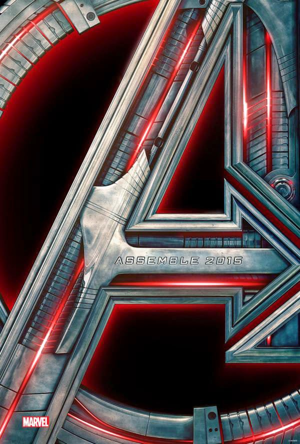Avengers: Age of Ultron Teaser Theatrical One Sheet Movie Poster