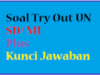 Download Soal Latihan Try Out UN SD / MI Plus Kunci Jawaban