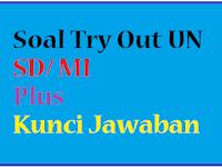Download Soal Latihan Try Out UN SD / MI Plus Kunci Jawaban