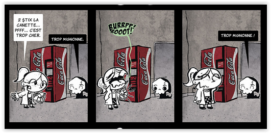 Strip extrait de La Petite Mort T1 de Davy Mourier