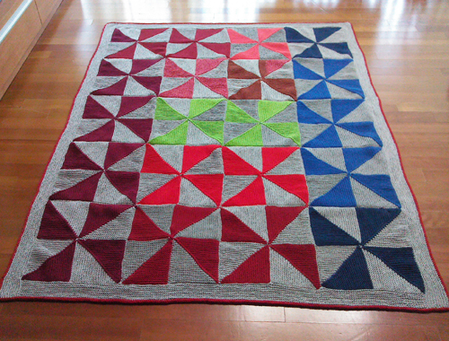 Country Quilt Baby Blanket - Free Pattern