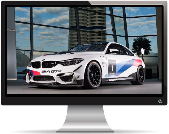 BMW M4 GT4 2 - Fond d'écran en Full HD