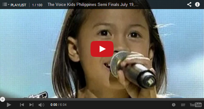 Semi Finals: 'Pangarap na Bituin' performed by Lyca Gairanod on The Voice Kids PH