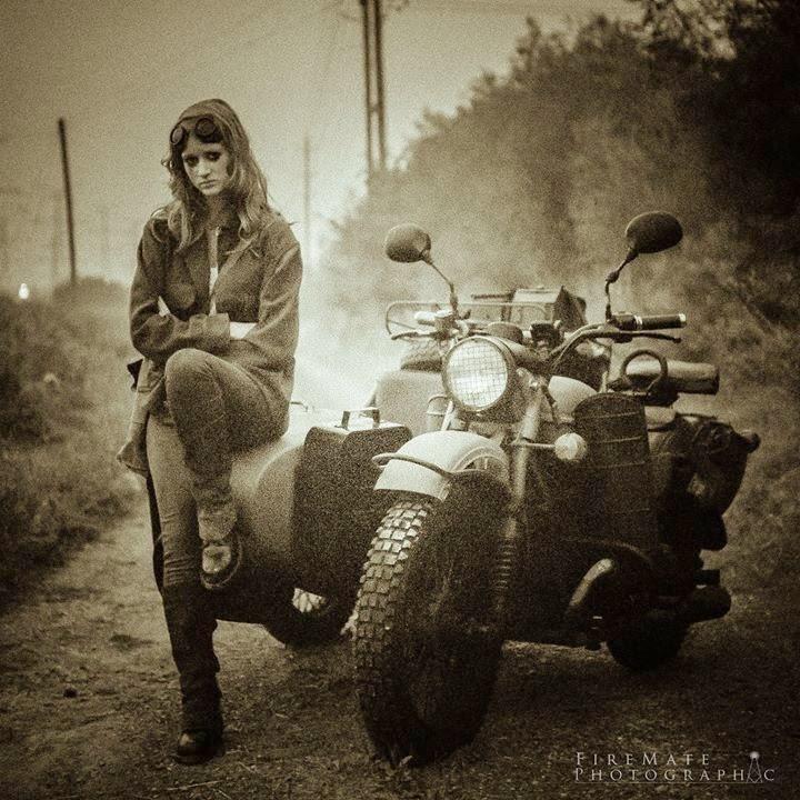 Mercenary Garage: Sad Sidecar Girl