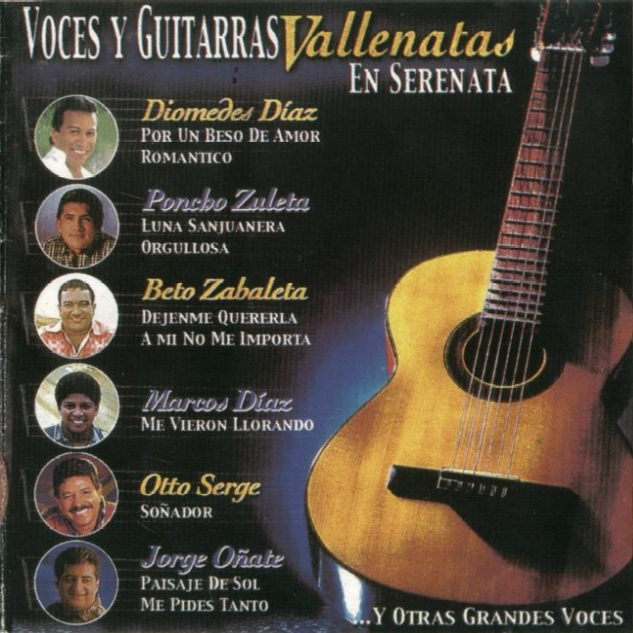 voces y guitarras vallenatas en serenata vol 2