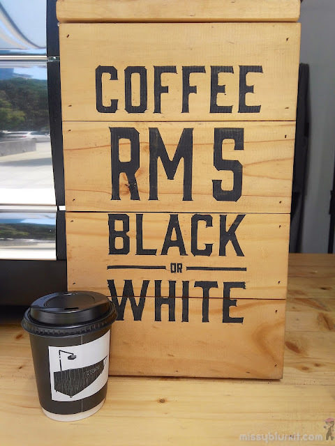 No kidding! It is RM5 for a good cup of coffee