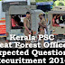 Kerala PSC - Expected Questions for Beat Forest Officer 2016 - 13