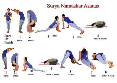 take healthy diet every day suryanamaskar is more than