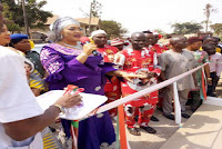 UMAHI'S WIFE INAUGURATES COMMUNITY PROJECTS