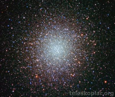 Meade 6 yıldız küme gözlemi