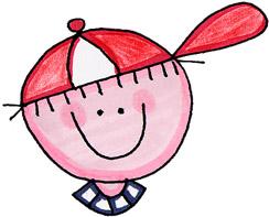 Dibujos de Caras de Niños.