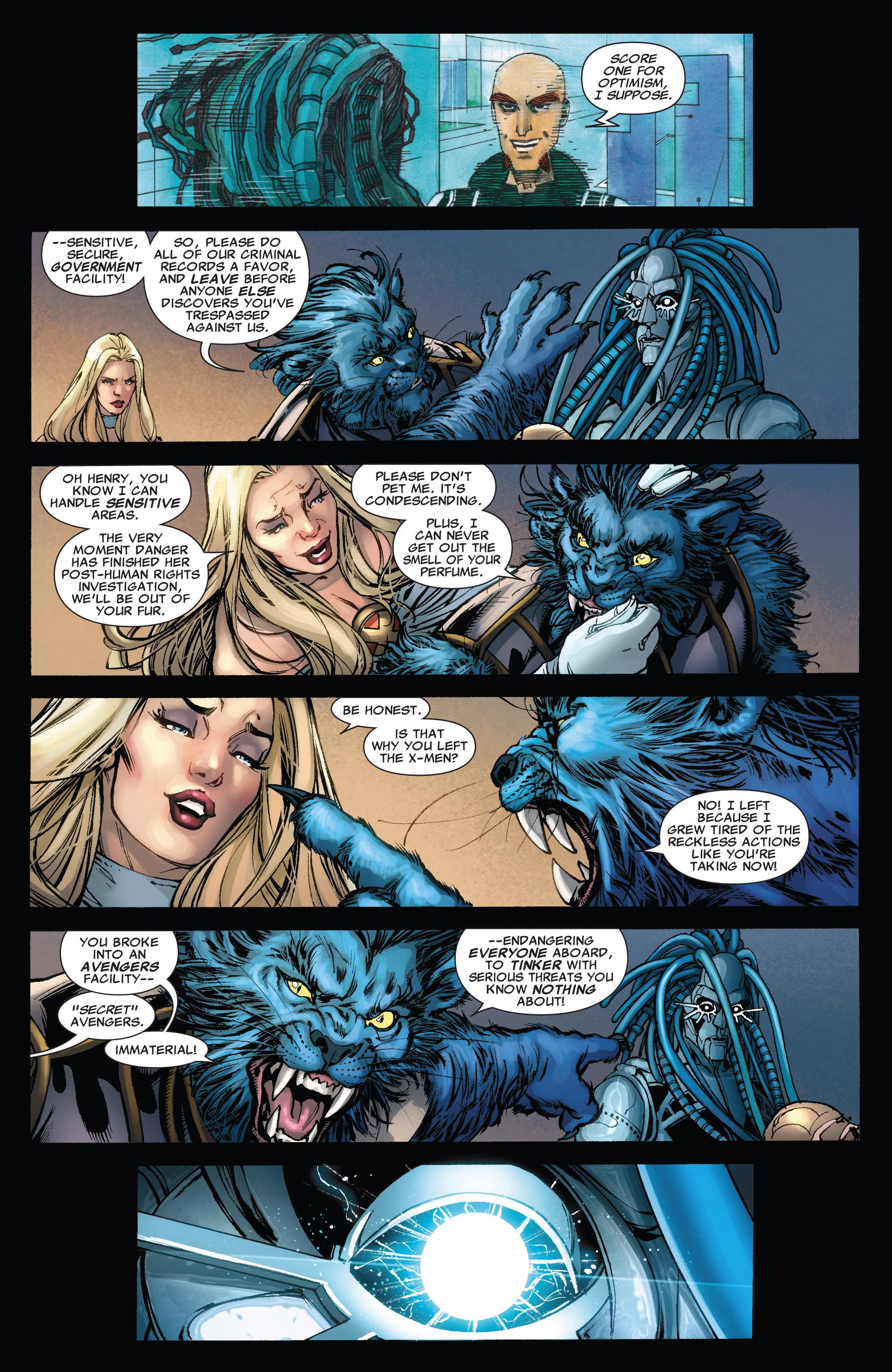 Read online Astonishing X-Men (2004) comic -  Issue #43 - 11