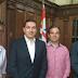 Vereador Kleber Borotto esteve com o Secretário Estadual de Esportes Dr. Paulo Gustavo