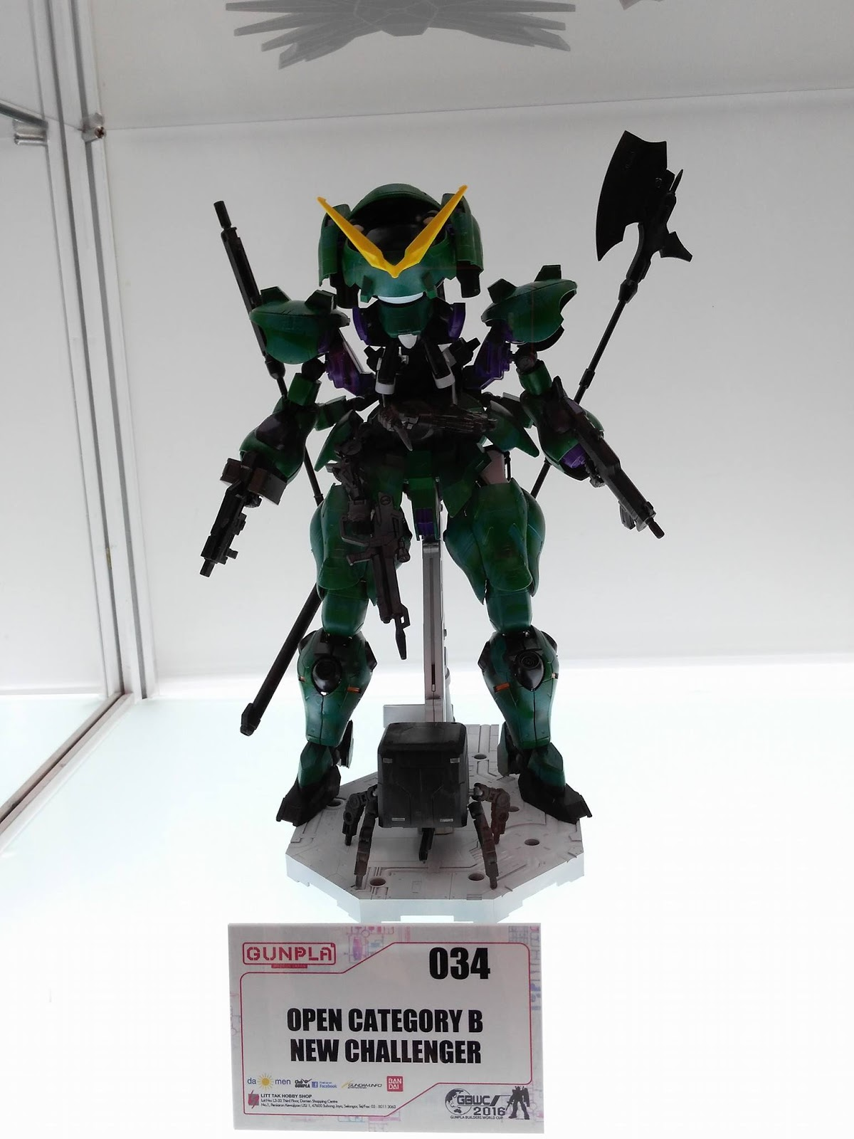 GunPla Builders World Cup [GBWC] 2016 Malaysia, Kuala Lumpur Image Gallery by Colony Part 1