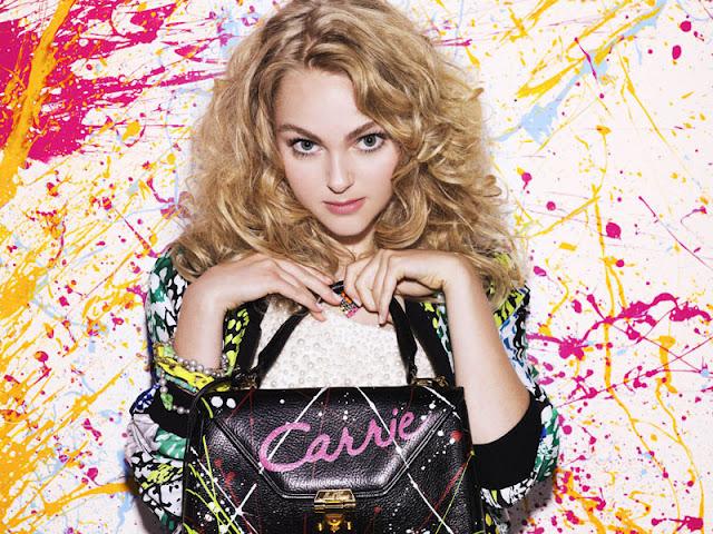 Carrie Diaries, bolsa, esmalte de unha