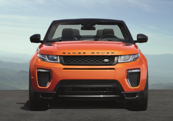 2018 Land Rover Evoque Convertible Front