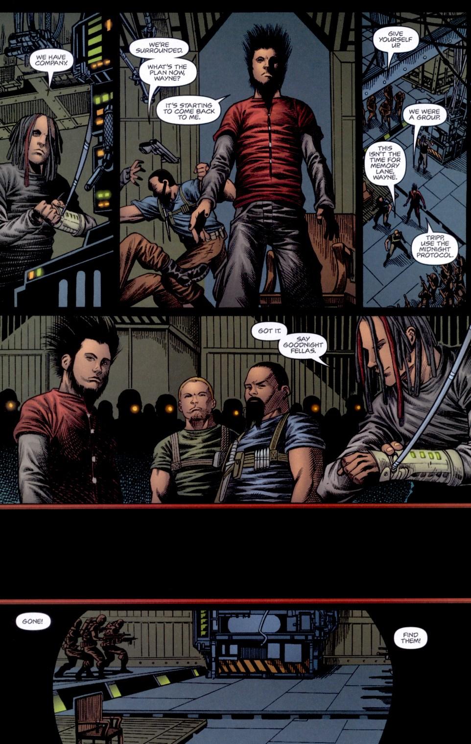 Read online Static-X: Machine comic -  Issue # Full - 18