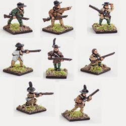 AWA11 Riflemen including command.