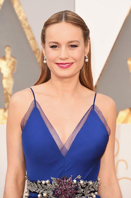 Oscar 2016 Brie Larson vestida de Gucci