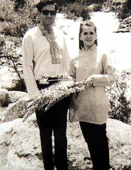 Rajiv Gandhi and Sonia S.