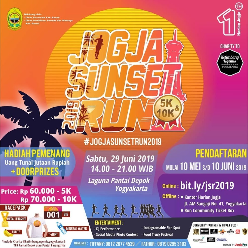 Jogja Sunset Run • 2019