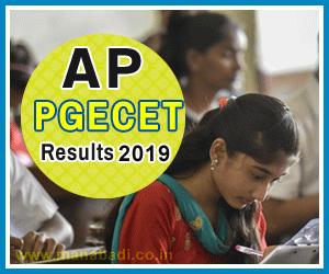 AP PGECET Results 2019