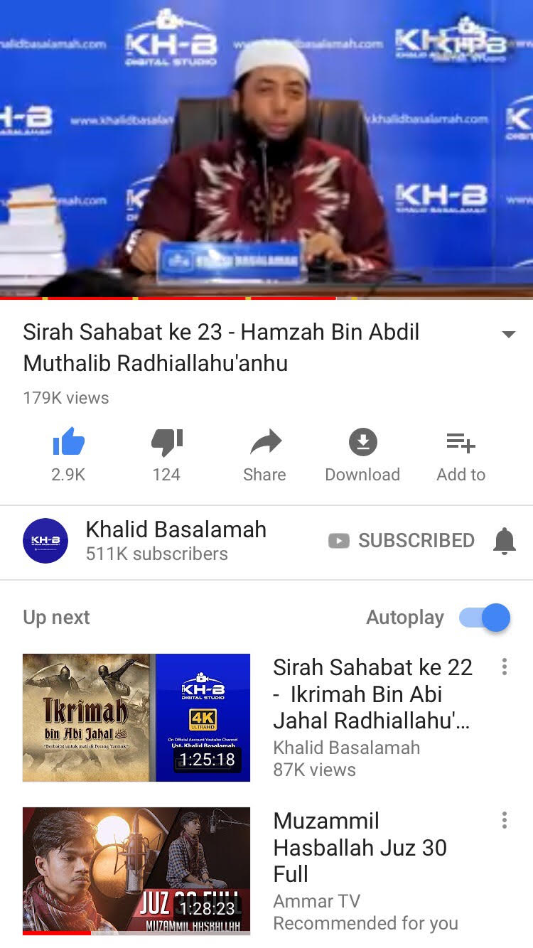 youtube-sirah-nabawiyah