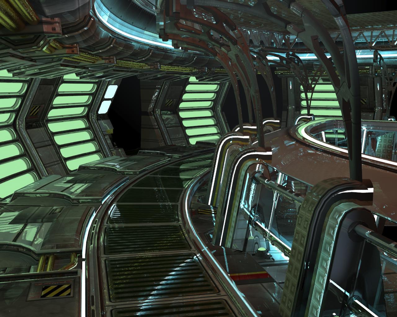 single person bridge sci fi spacecraft - photo #10