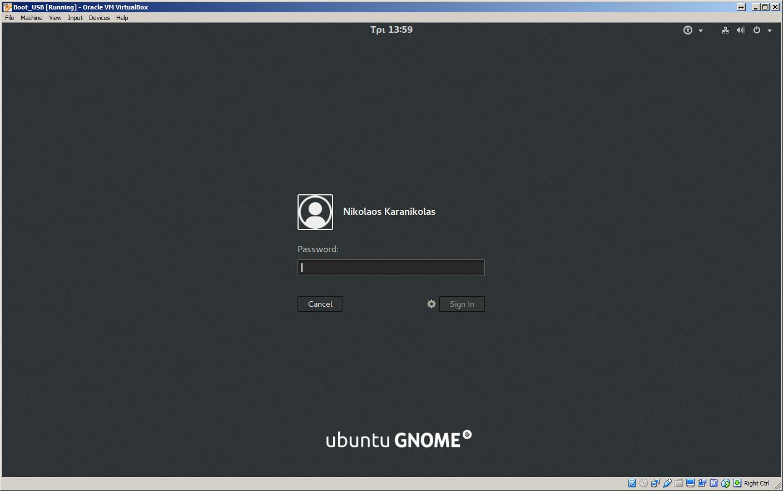 boot from a usb drive in virtualbox karanik gr