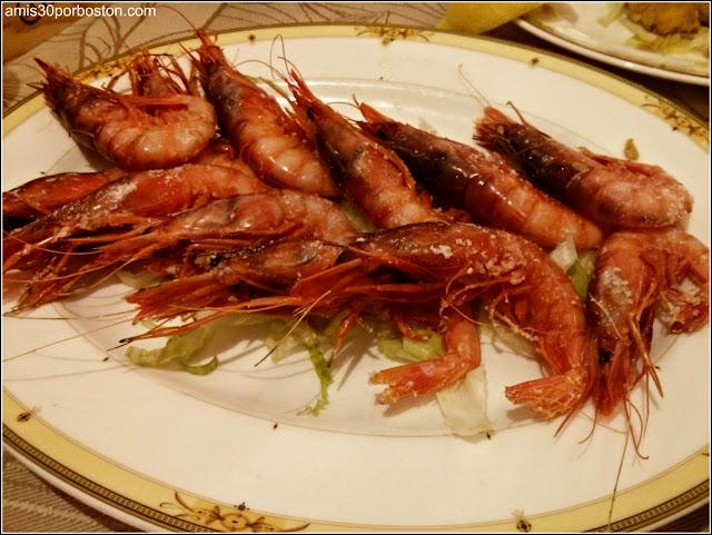 Gastronomía Almeriense: Gambón de Garrucha a la Plancha
