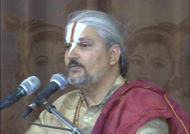 Swami Dhananjay Maharaj - Bhagwat Katha Vachak.