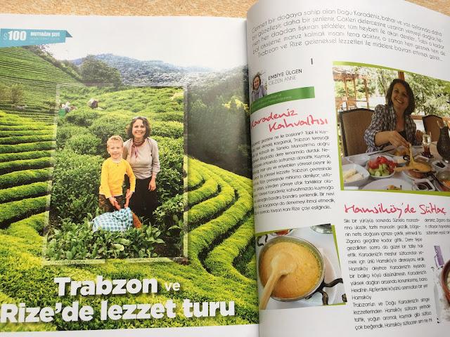 Trabzon'da ve Rize'de ne yenir
