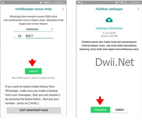 whatsapp transparan mod apk