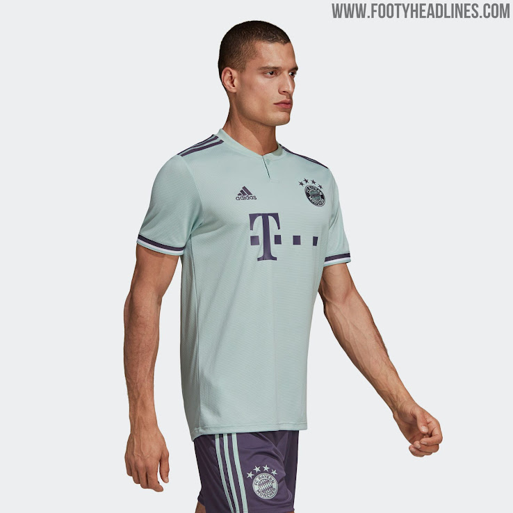 competitive price b733c 3d21b Bayern Munich 18-19 Away Kit Released - Footy Headlines
