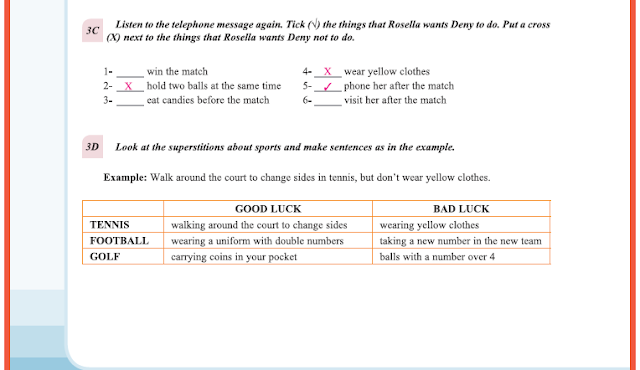 9. Sınıf Yıldırım Yayınları İngilizce A1.2 Ders Kitabı 44. Sayfa Cevapları Theme 3 Values