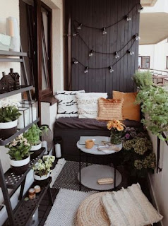 Decorating a Small Patio